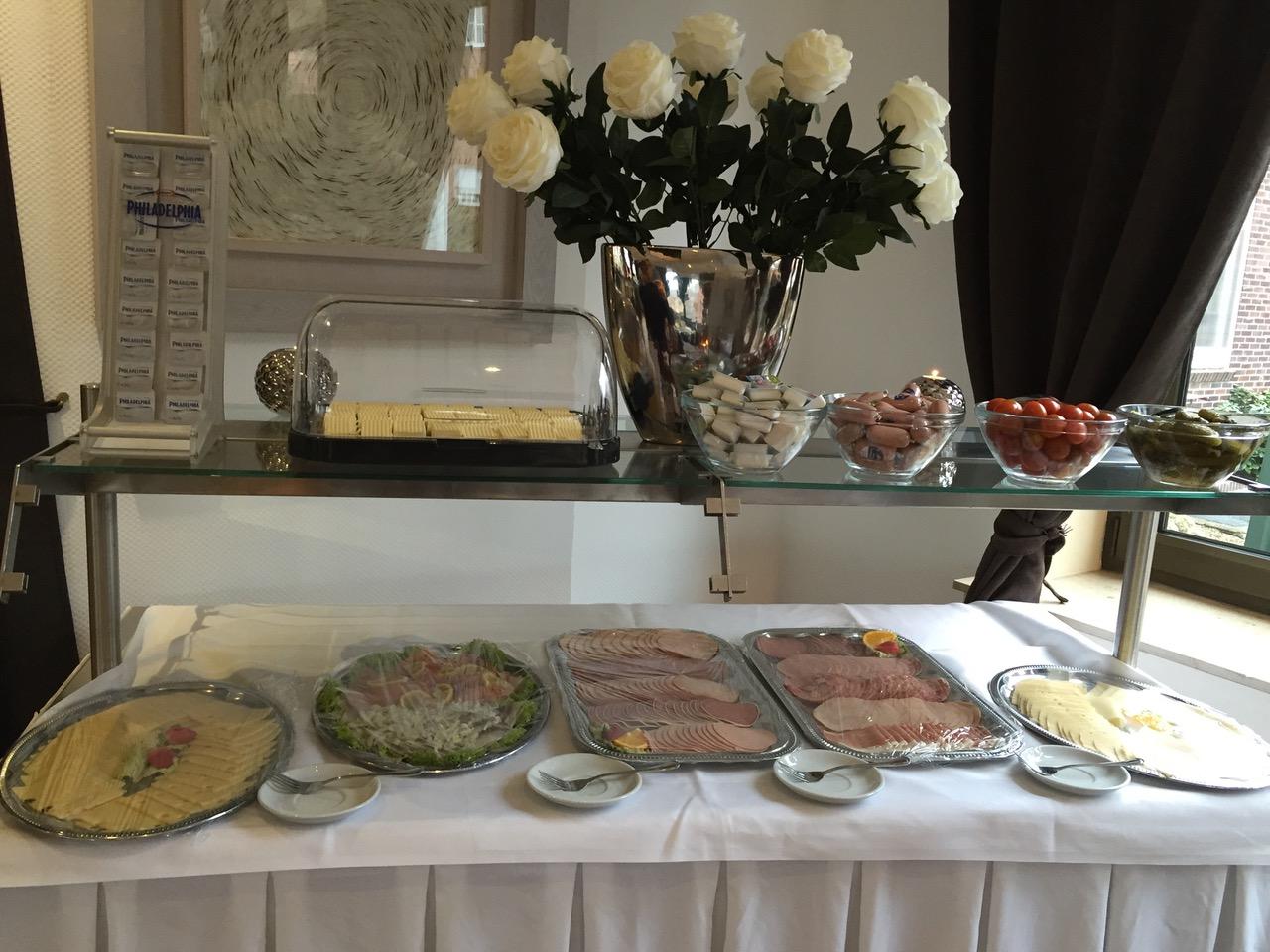 Frühstücksbuffet Platten